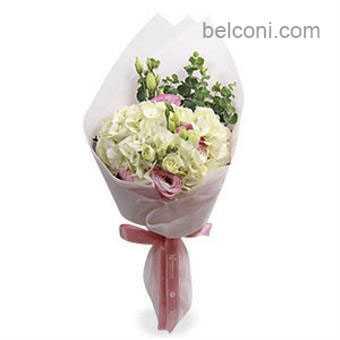 Hydrangea Hand Bouquet 05