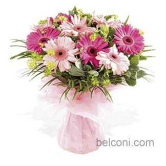 Gerbera and Sunflower Bouquet 28