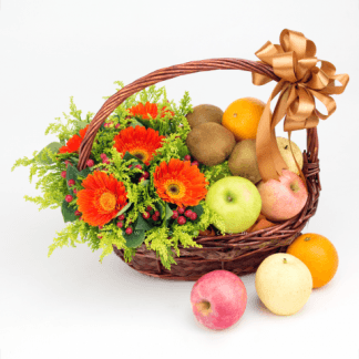 Flower and Fruit Basket 10