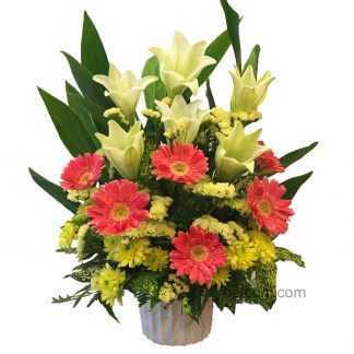 Flower Basket 17