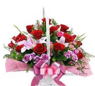 Flower Basket 14