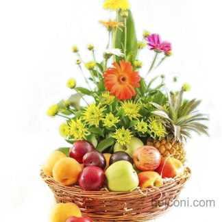 Flower and Fruit Basket 02