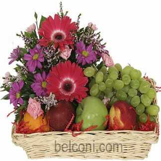 Flower and Fruit Basket 15