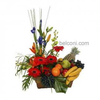 Flower and Fruit Basket 16