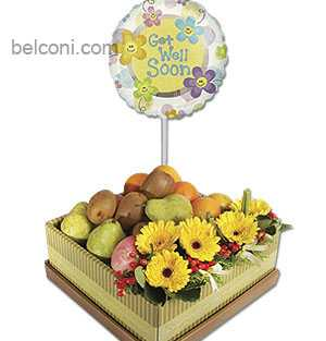 Flower and Fruit Basket 17