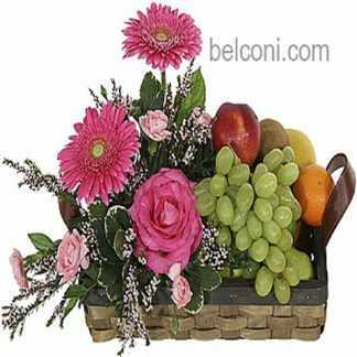 Flower and Fruit Basket 18
