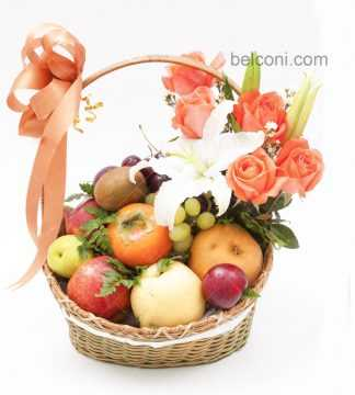 Flower and Fruit Basket 20