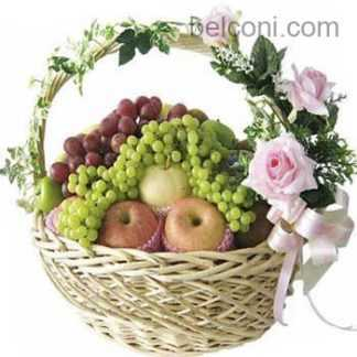 Flower and Fruit Basket 11