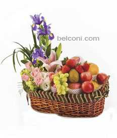 Flower and Fruit Basket 23
