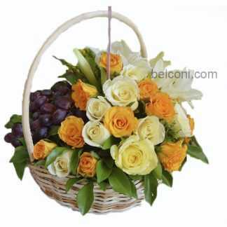 Flower and Fruit Basket 24