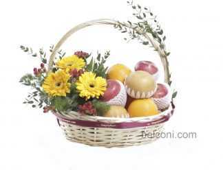 Flower and Fruit Basket 25