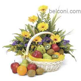 Flower and Fruit Basket 26