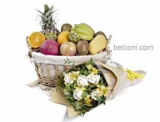 Flower and Fruit Basket 27