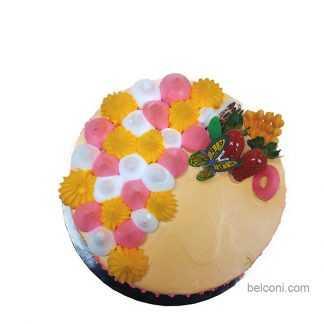 Pandan layer special cake