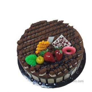 Mochacino special cake