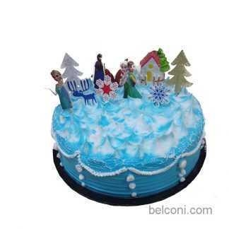 Z 3D Village scene cake
