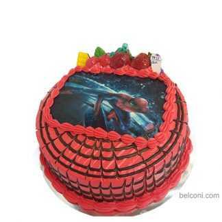 Z spiderman 03 3D cake