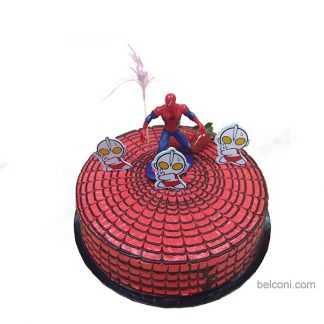 Z spiderman 02 3D cake