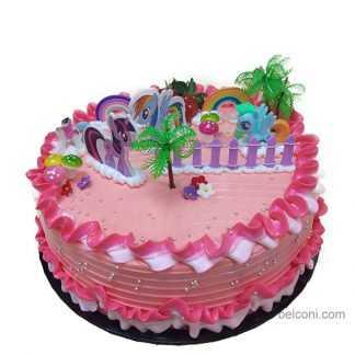 Z baby park 3D cake