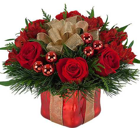 Christmas Flowers.Merry Mejestic Cd 10