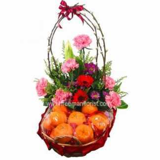Flower and Fruit Basket 03