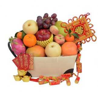 Flower and Fruit Basket 13